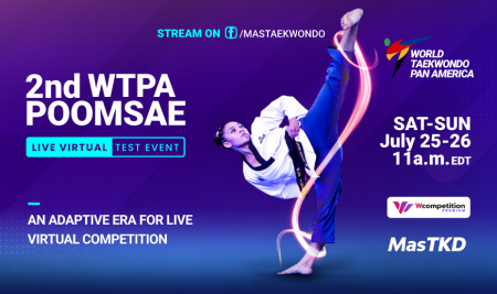 2nd WTPA poomsae live virtual test event